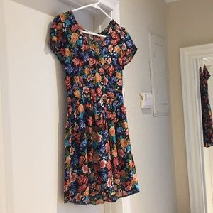 chiffon dress with cutout back (last picture)